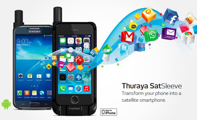 Thuraya SatSleeve Android